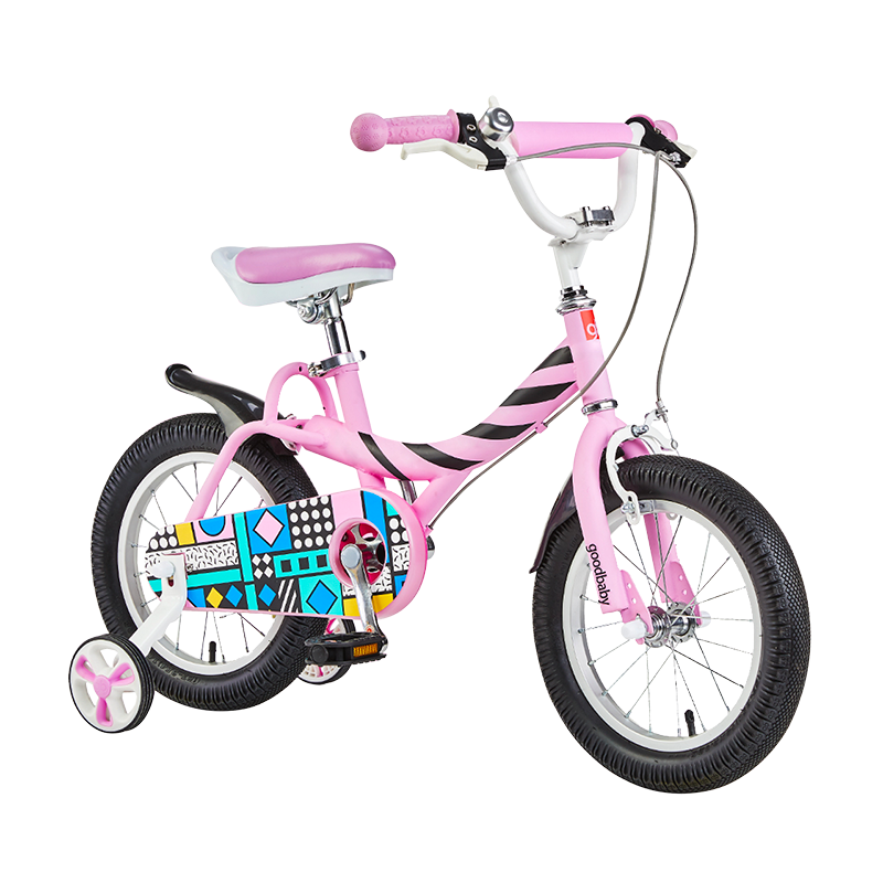 gb好孩子 儿童自行车男女款小孩单车12/14/16寸 JG1488QX-C-R206P 14寸