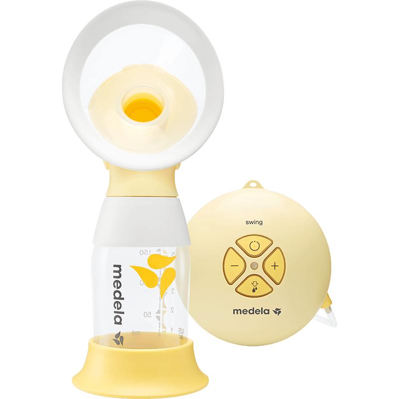 美德乐(Medela)丝韵电动吸奶器舒悦单边吸乳器挤奶器 吸力大排后乳 新品升级(瑞士进口)