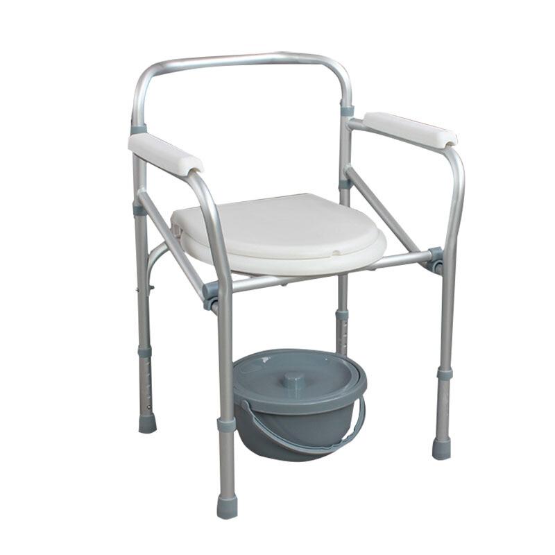 AUFU 佛山東方醫療老人坐便椅 鋁合金坐便器老人馬桶椅兩用洗澡椅FS894L