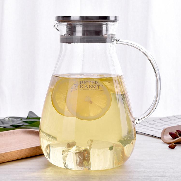 比得兔玲珑耐热玻璃冷水壶PR-T905