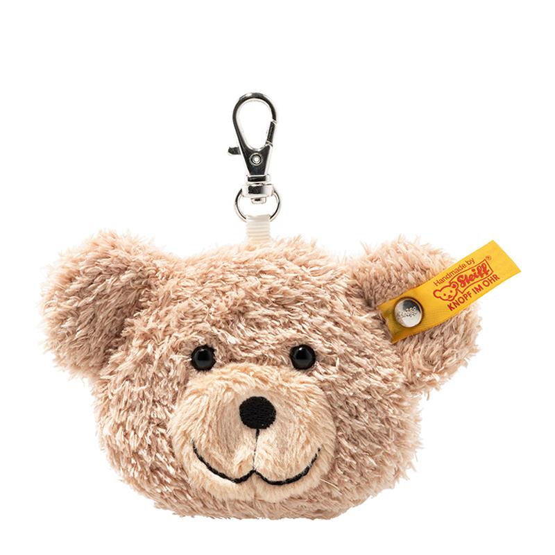 德国Steiff毛绒玩具挂件小熊钥匙链米色 7cm 4001505112423
