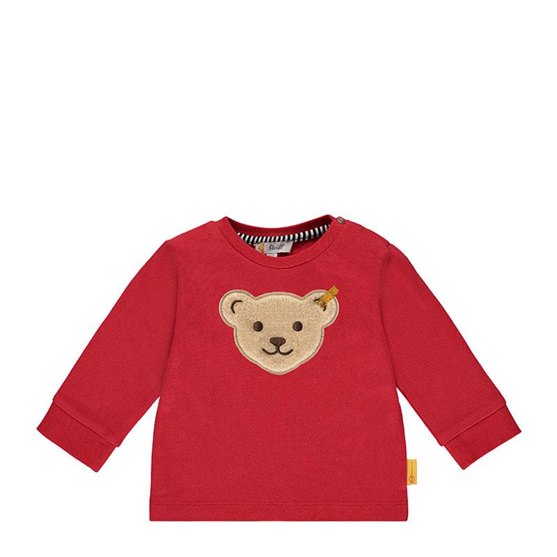 Steiff婴幼儿针织上衣 德国进口 男婴小熊长袖T恤 L002012134