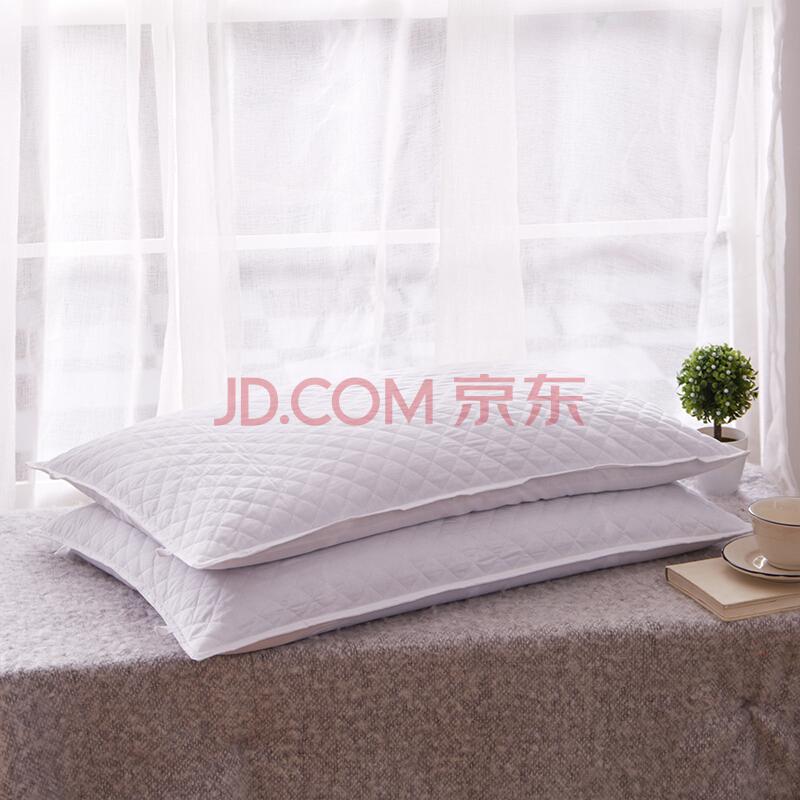 恒源祥 床上用品 全棉纯荞麦枕头 荞麦壳荞麦皮枕头芯可脱卸拆洗枕头 单只装 苦荞48*74cm,恒源祥