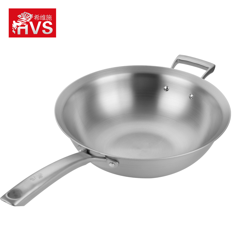 希维施HEVIS莱比锡系列30cm单柄炒锅