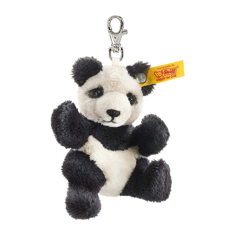 德国Steiff毛绒玩具挂件钥匙链熊猫 9cm 4001505112102