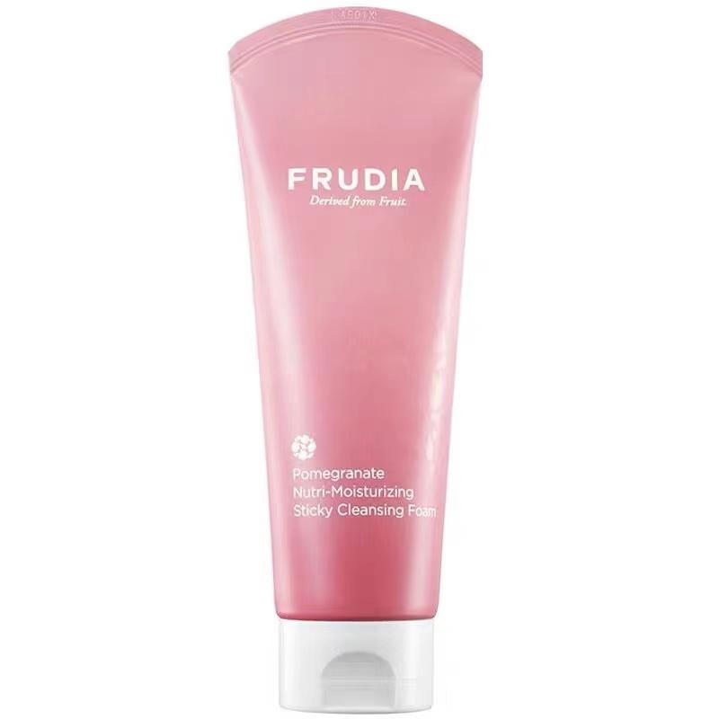 韩国进口Frudia红石榴营养保湿紧致洗面奶145ml 深层清洁 洗出美人肌