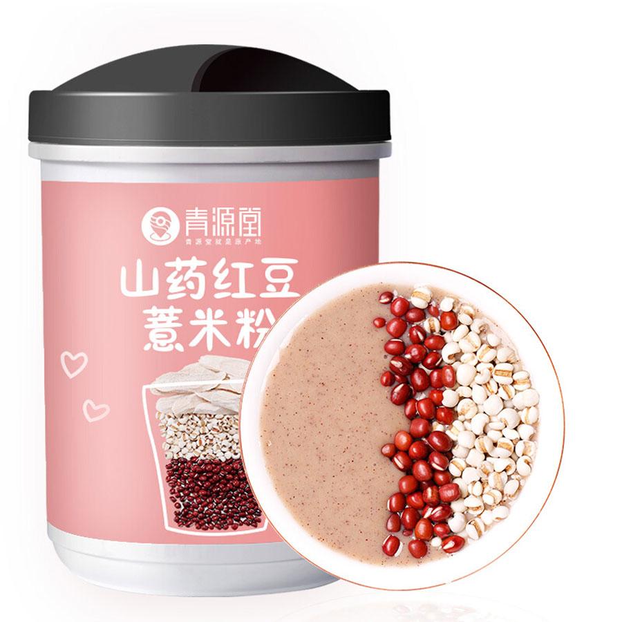 青源堂 山药粉 山药红豆薏米粉 代餐粉 500克