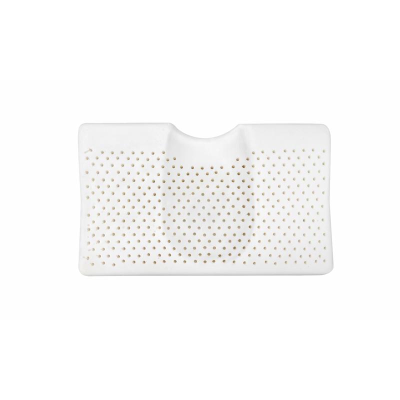 TAIPATEX泰国原装进口天然乳胶 颈椎舒适透气枕50*30*8/10cm