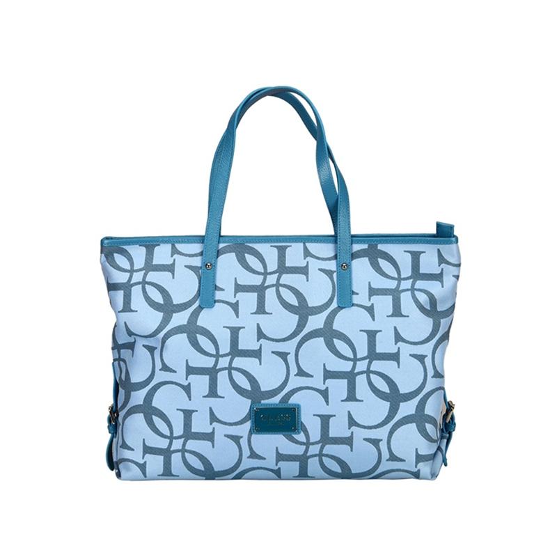 GUESS盖尔斯 新款时尚欧美字母印花女士手提包