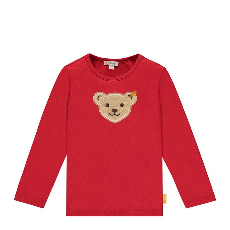 Steiff嬰幼兒針織上衣 德國進口 小熊長袖套頭上衣