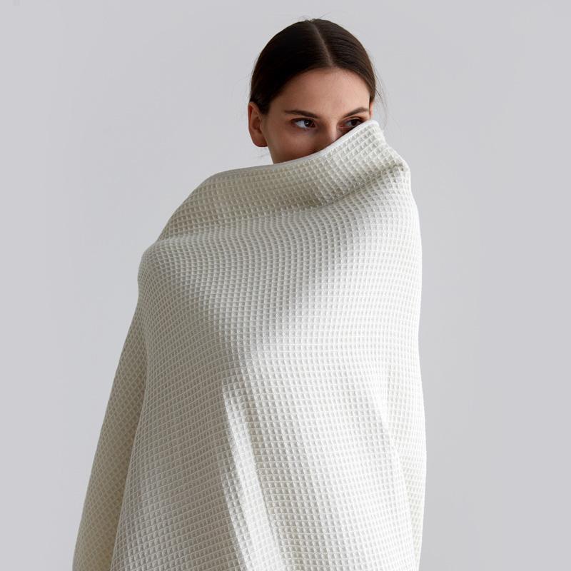 LaSuntin 真我系列 华夫格毛巾毯