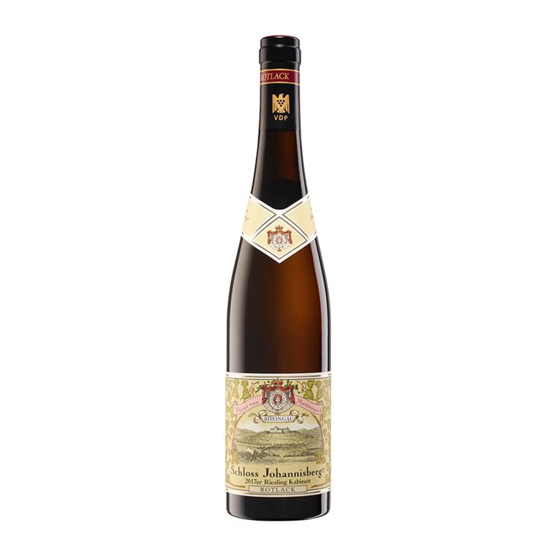 德国约翰山半干白(红标)葡萄酒 单支750ml