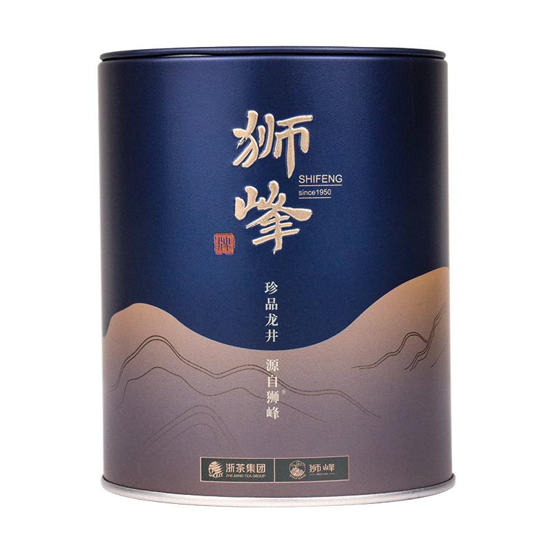 狮峰牌 龙井茶 沁露特级50g 罐
