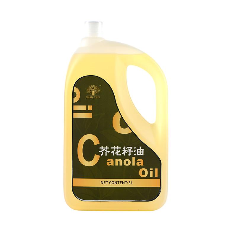 黄金树芥花籽油3L