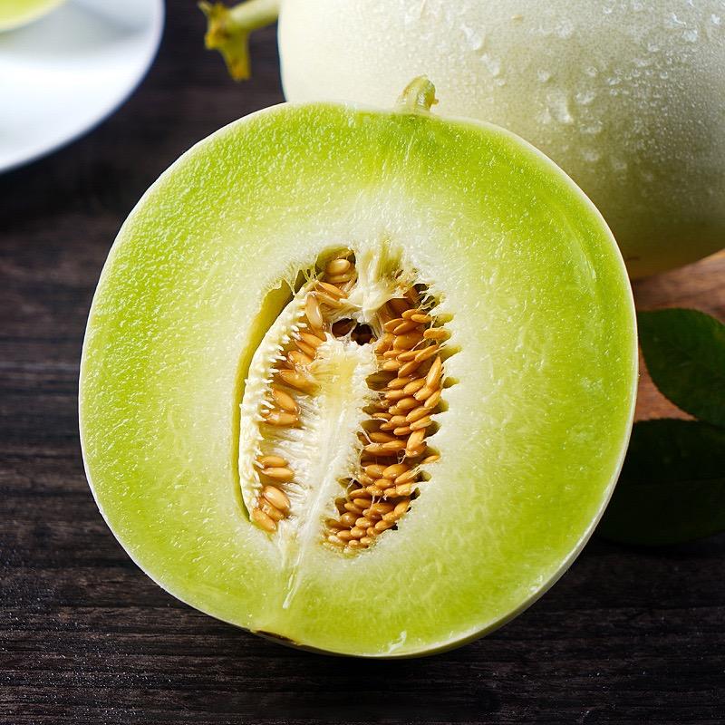 信農宜食 新鮮玉菇甜瓜 4.5斤裝2個 當季水果