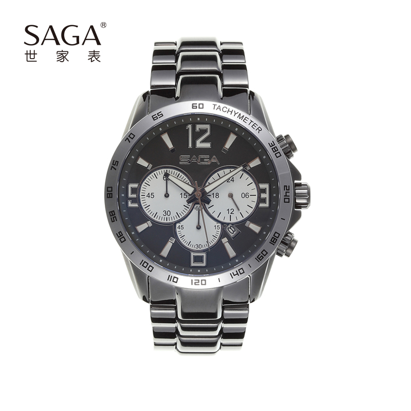SAGA世家男表品牌正品男士腕表夜光防水时尚运动手表大表盘礼物