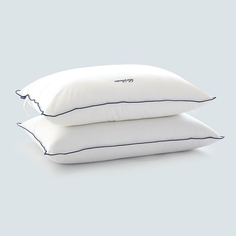 LaSuntin丽兹高档 全棉优质可水洗枕头枕芯护颈枕保健枕颈椎枕头松软
