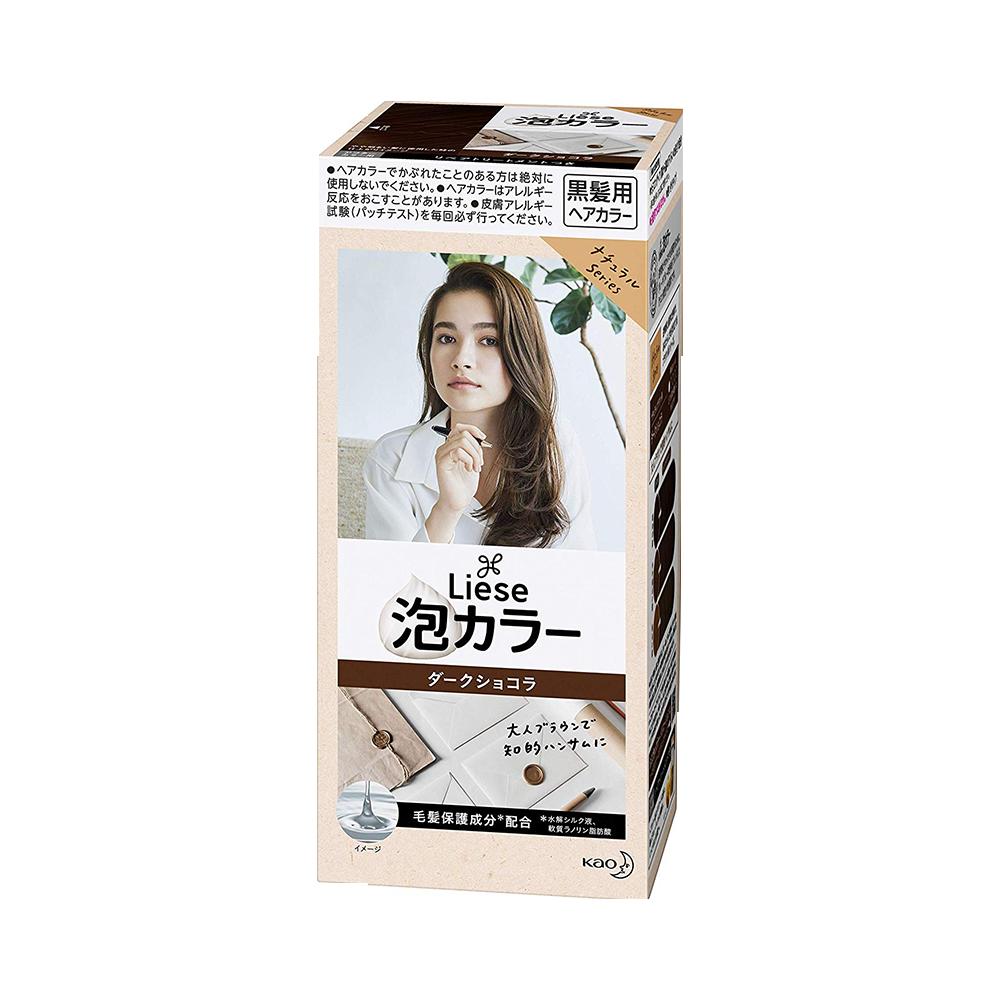 KAO 花王 PRETTIA泡沫染发剂 巧克力棕色 1盒