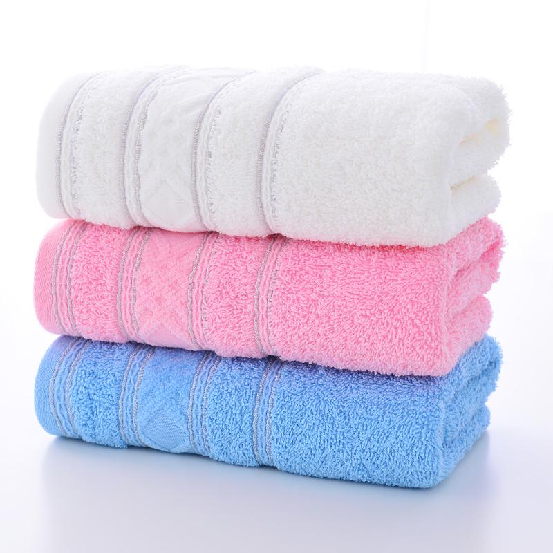 潔麗雅(Grace)純棉強吸水面巾套裝(三條裝)W0401