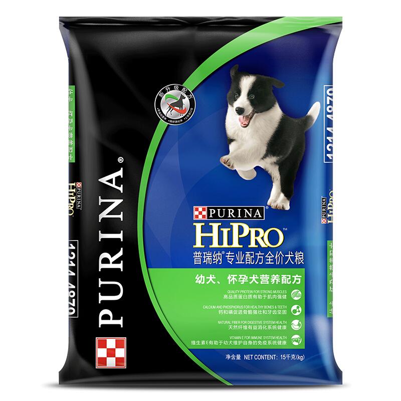 普瑞纳 宠物 专业配方幼犬怀孕犬配方狗粮 15kg