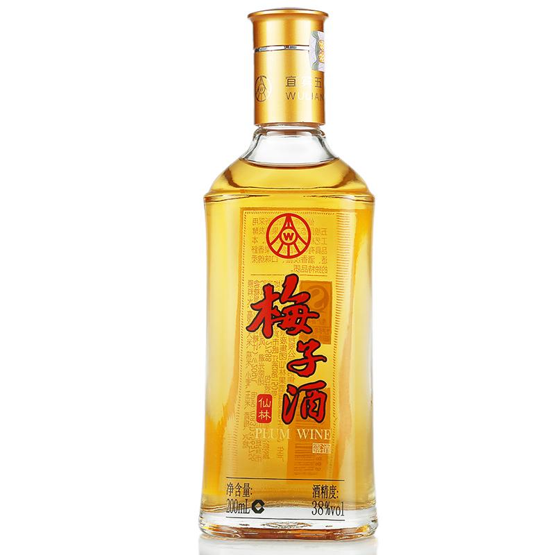 五粮液集团 仙林梅子酒 38度 200ml
