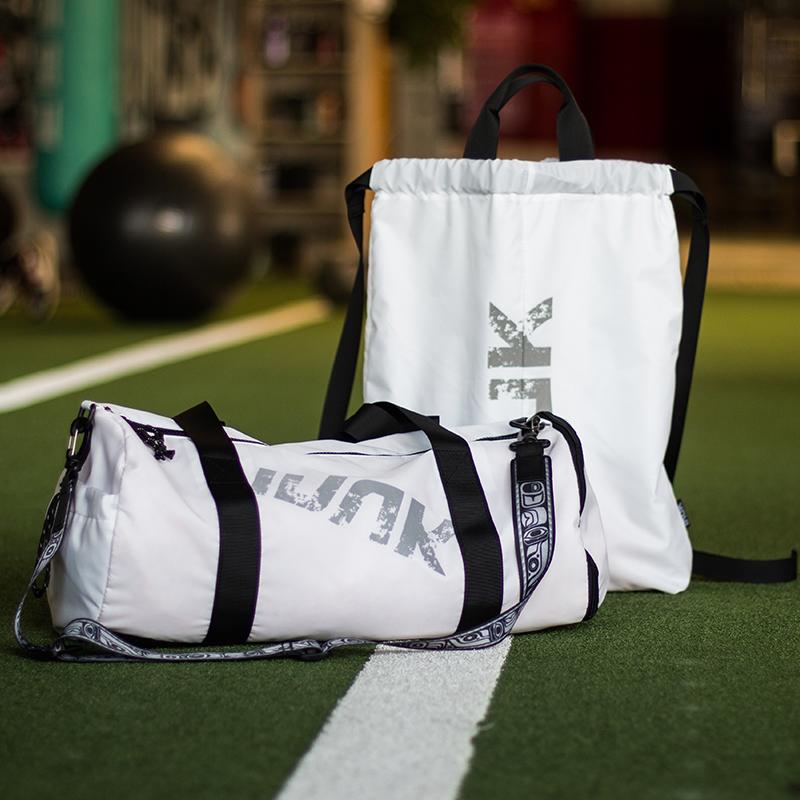 Inuk新款健身包 斜跨桶包+抽绳背包
