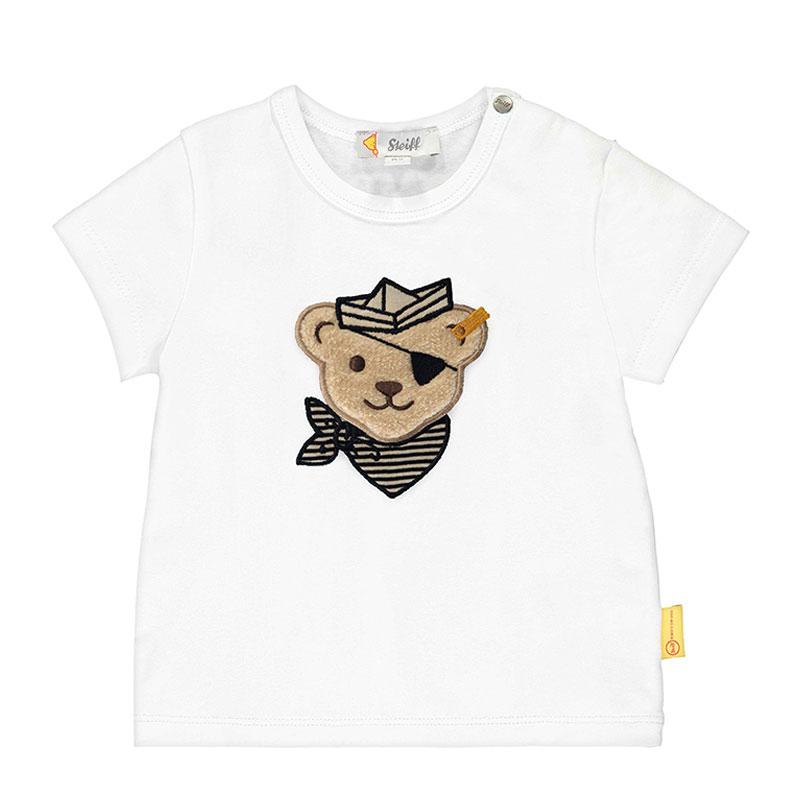 Steiff婴幼儿针织T恤 德国进口 小熊短袖T恤 L002012140