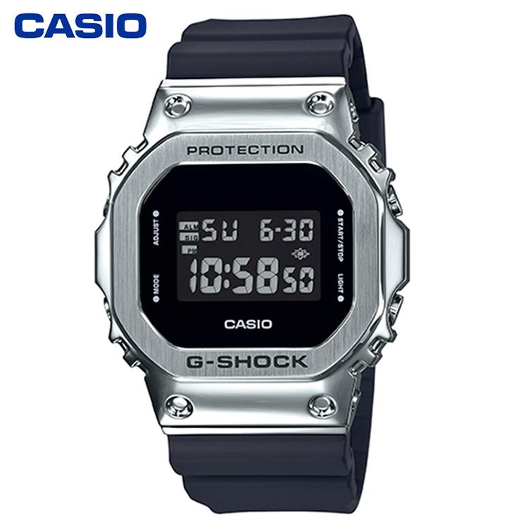 CASIO卡西歐熱銷人氣爆款GM-5600系列復古方塊運動男表潮流時尚個性防水手表
