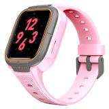 小寻 电话手表 儿童智能手表 运动手环学生电子表 4G全网通/GPS定位/360度防水 S3樱花粉,小寻