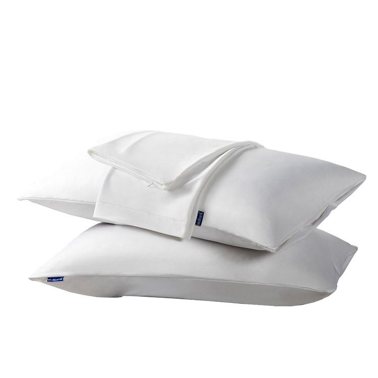 velfont奥克眠系列天然有机棉防水防螨枕套一对 Y160B