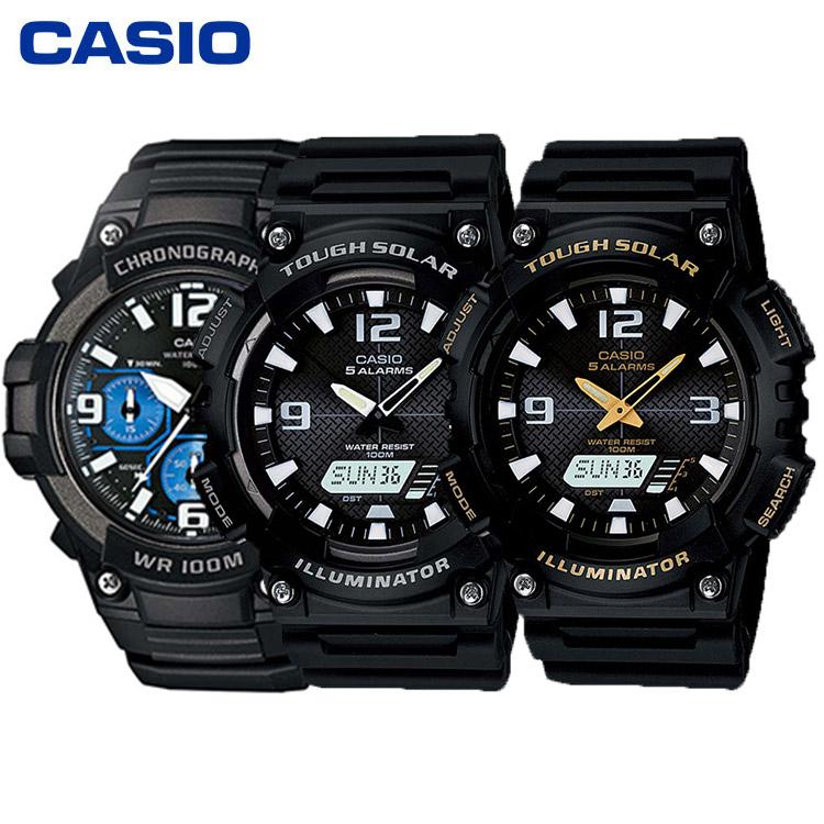CASIO卡西欧AQ-S810系列、MCW-100H系列运动手表男表