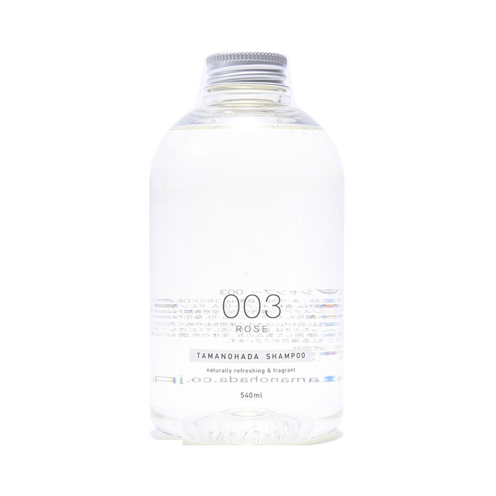 TAMANOHADA 玉肌 无硅植物精华洗发水 003 玫瑰 540ml