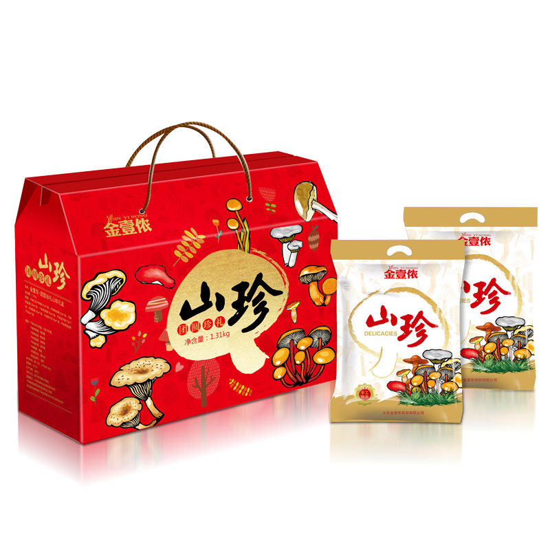 金壹侬-团圆珍礼山珍礼盒1310g