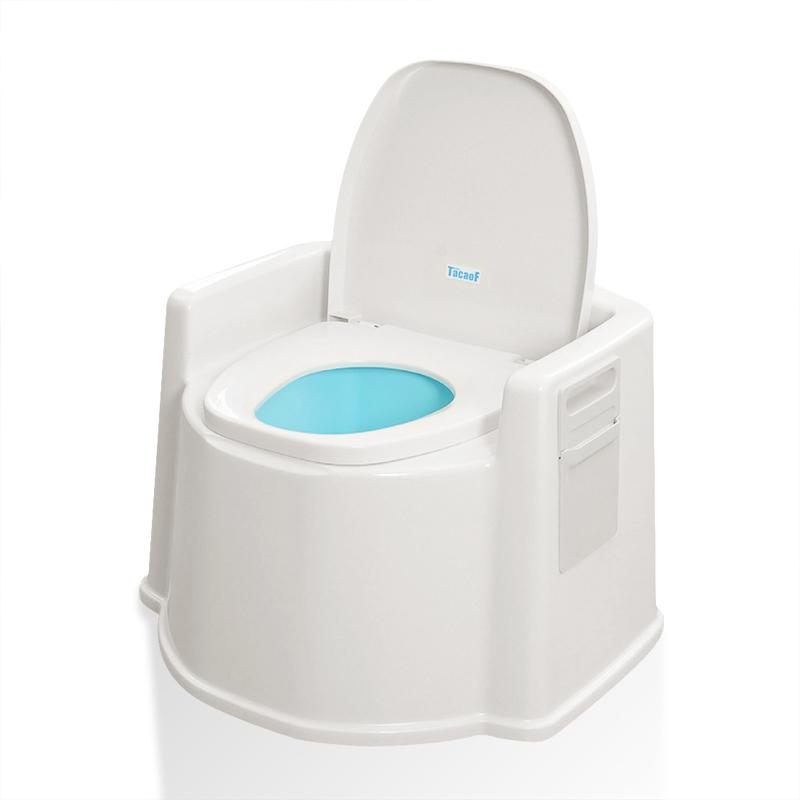 TacaoF 特高步 日本老年人接尿器 手提尿壶 家庭护理 夜壶 移动便携马桶 便携马桶PT02