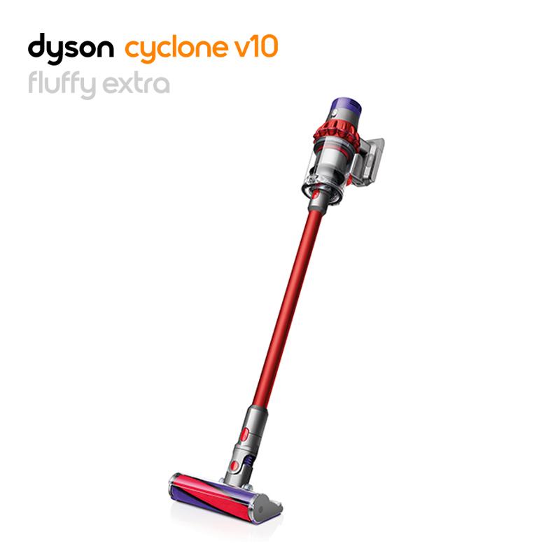 戴森(Dyson)吸塵器V10 Fluffy Extra手持吸塵器 除螨無線寵物家庭適用【新款】