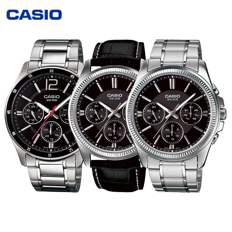 CASIO卡西欧手表男表MTP-1374、MTP-1375、BEM-506、MTP-1058、MTP-1052系列