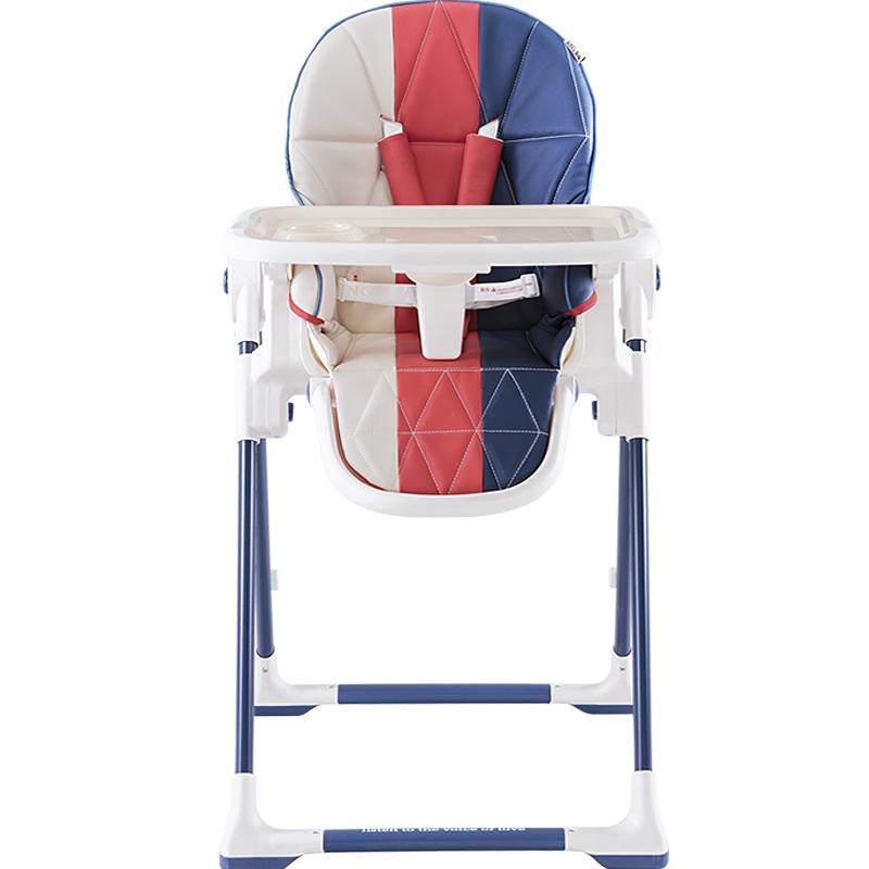 爱音(Aing)宝宝餐椅 儿童婴幼儿餐椅座椅 多功能可折叠便携式 免安装吃饭桌椅 C055音色