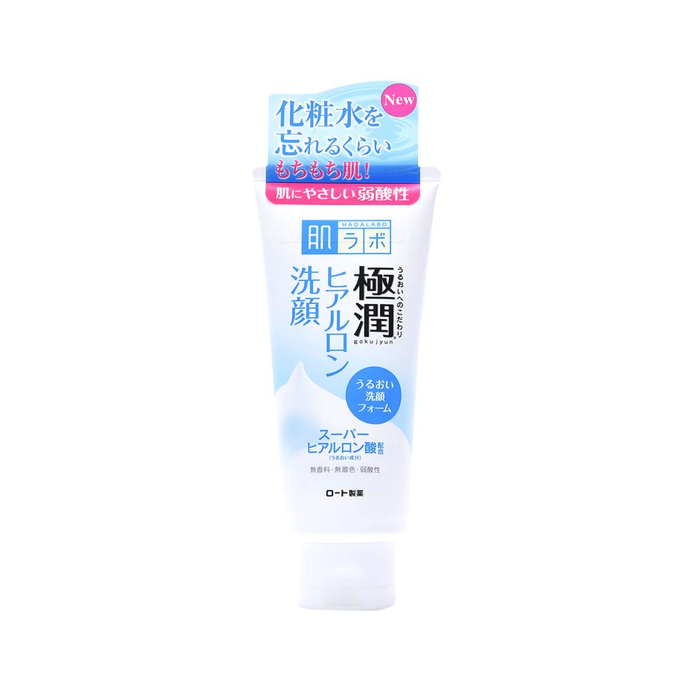 ROHTO 乐敦 肌研极润透明质酸保湿洁面乳 100g