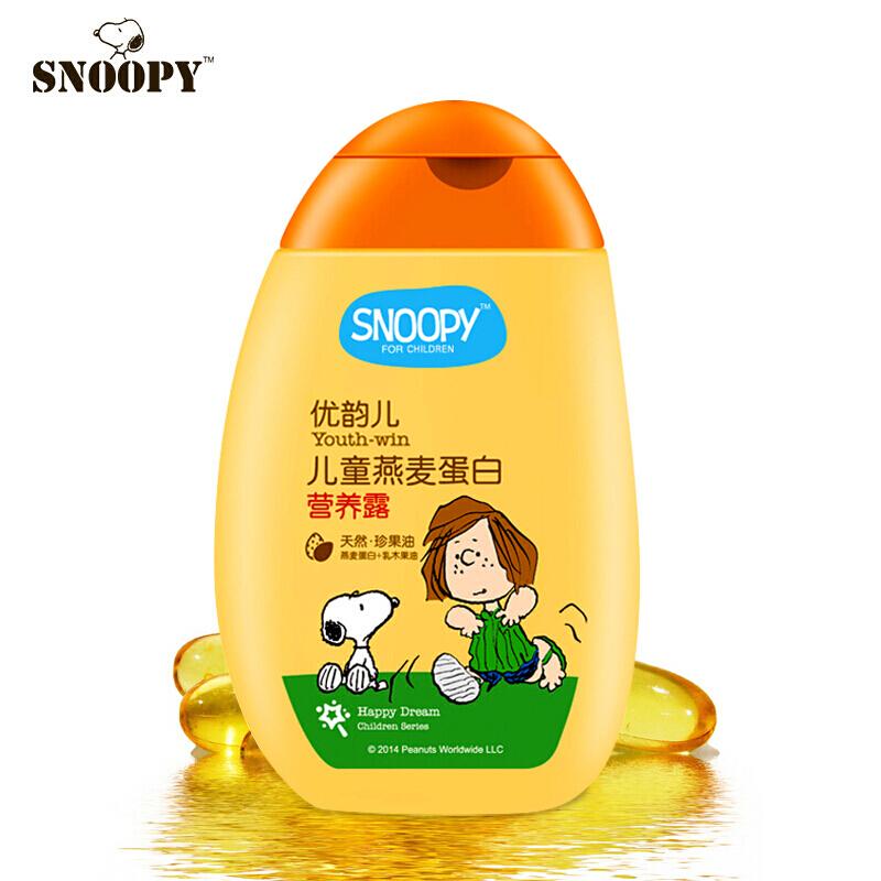 SNOOPY史努比儿童燕麦蛋白营养露120ml