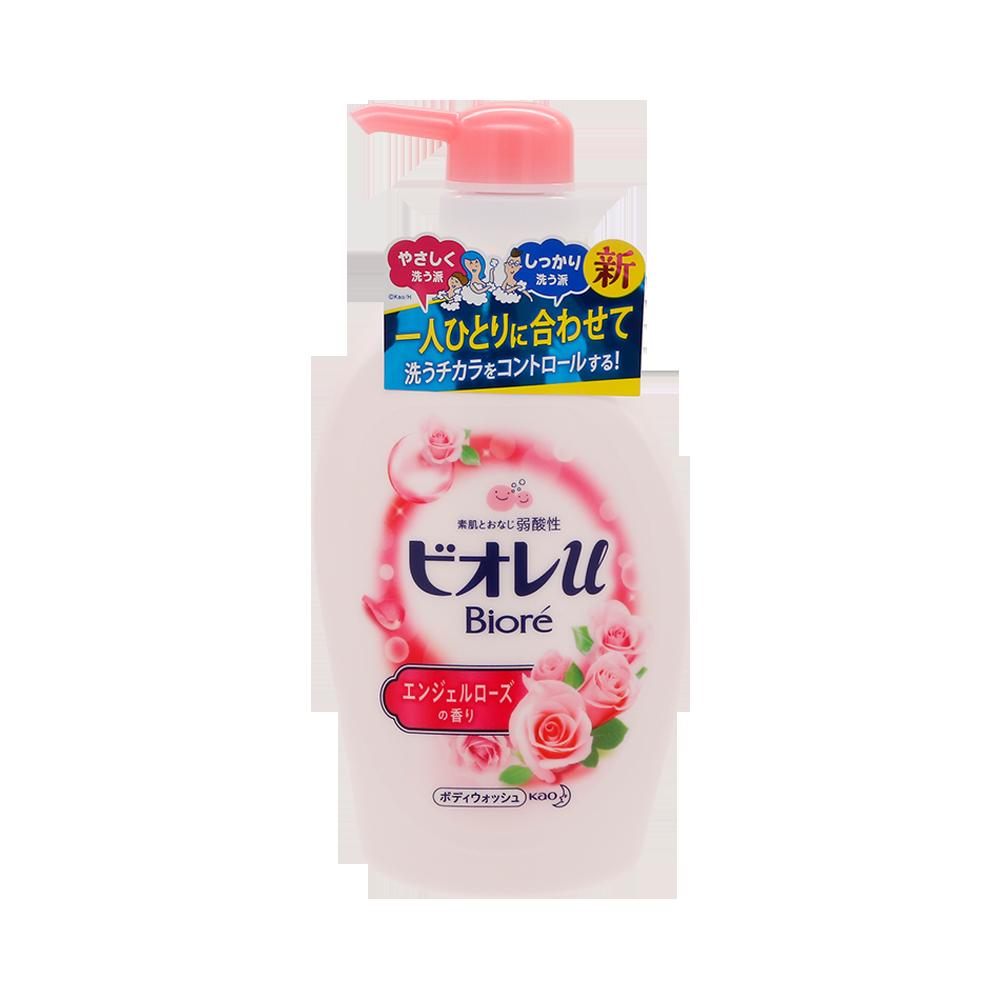 Biore 碧柔 弱酸性沐浴露 玫瑰花香 480ml