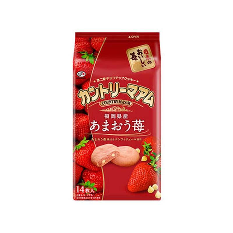 不二家草莓味曲奇饼干14枚