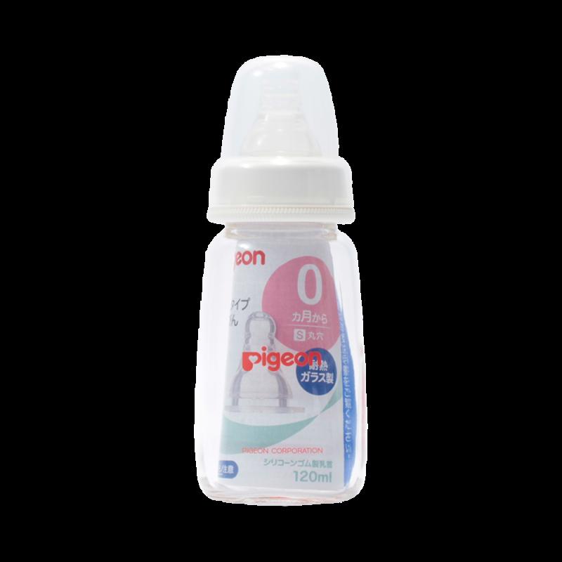 PIGEON 貝親 瘦版哺乳奶瓶 120ml