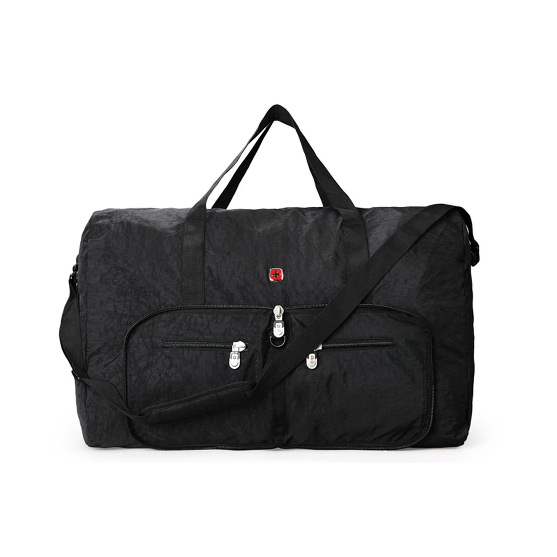 Wenger/威戈可折叠包旅行包黑色