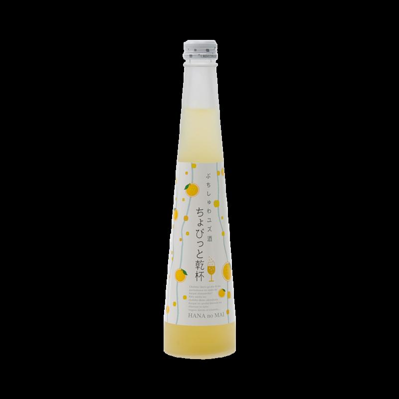 HANANOMAI 花之舞 轻轻干杯系列微起泡清酒果酒 柚子酒 300ml