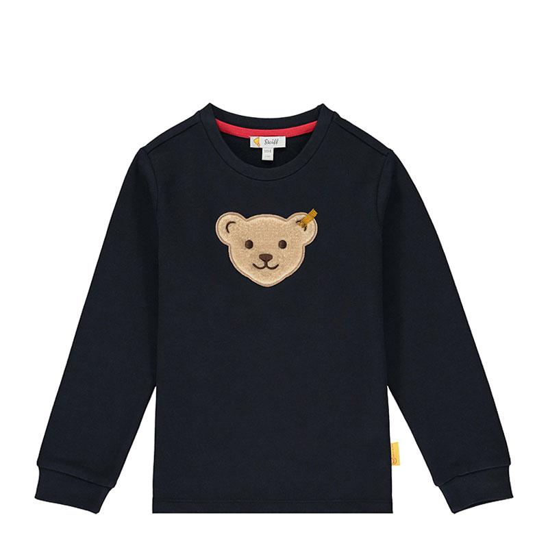 Steiff男童針織套頭衫 德國進口 男嬰小熊長袖T恤