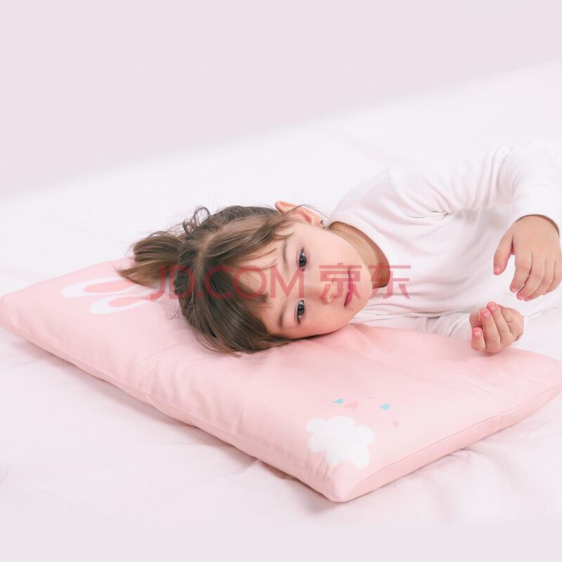 水星宝贝 水星家纺出品 全棉婴儿枕芯枕头 Baby好眠儿童决明子枕(蓝车)35×58×3.5cm,水星家纺