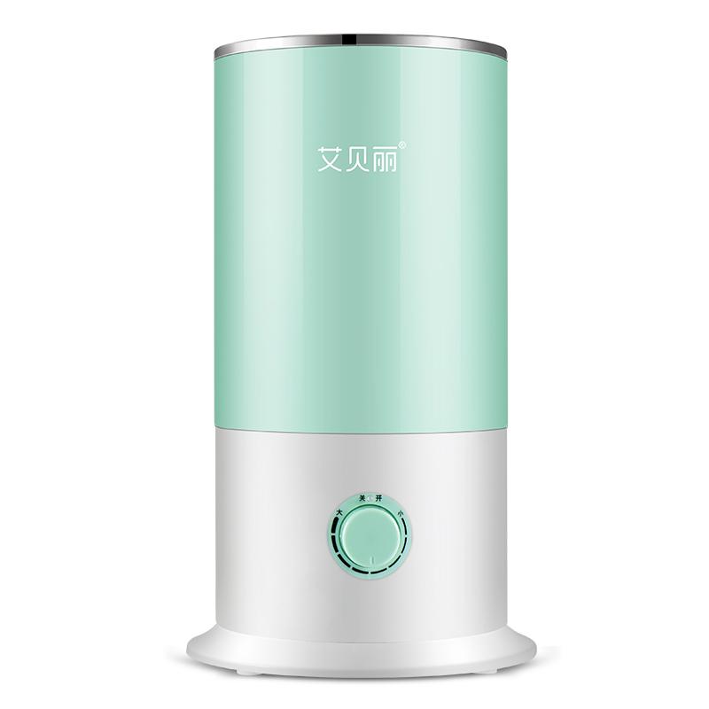 艾贝丽加湿器 MR-198-Z机械款 上加水加湿器家用静音卧室大容量喷雾孕妇婴儿空气净化小型