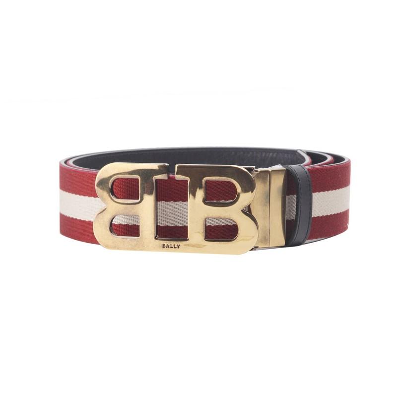 BALLY/巴利 男士字母皮带腰带 MIRROR B 40 M.T