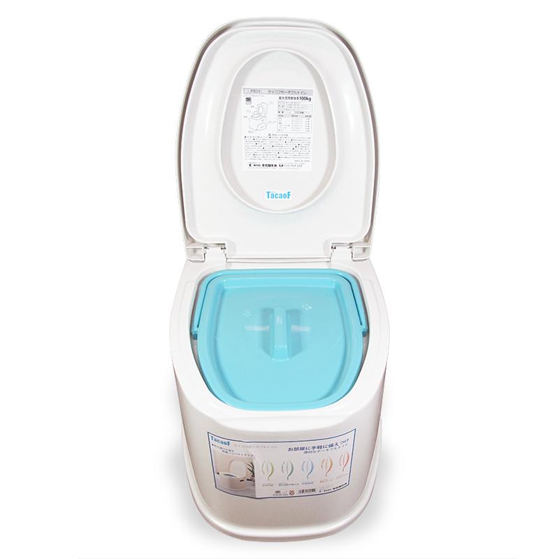 TacaoF 特高步 日本老年人接尿器 手提尿壶 家庭护理 夜壶 移动便携马桶 便携马桶PT01