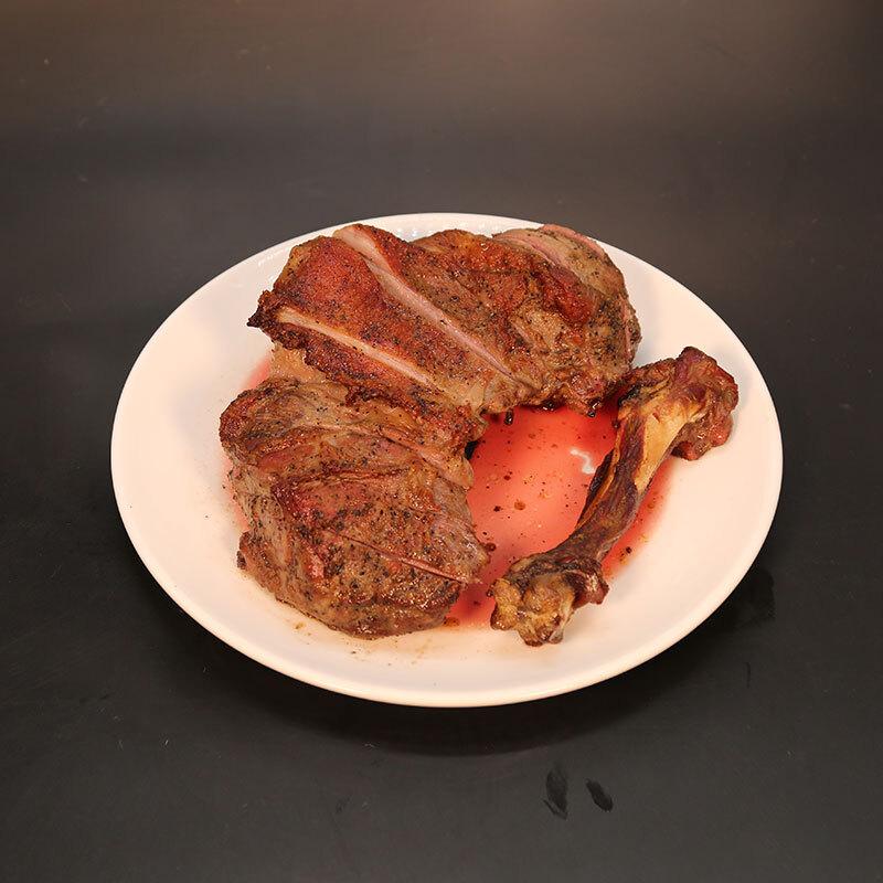 恒都 带骨羊后腿 2kg/袋 烧烤食材 火锅食材